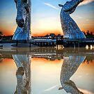 The Kelpies, Scotland by Ian Coyle