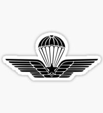 Italian Paratroops qualification badge subdued Sticker