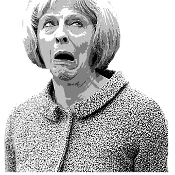 Theresa May Swearing - Oh Goodness! (Fields of Wheat) by majinstevieart
