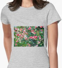 Tokyo Blossoms Womens Fitted T-Shirt