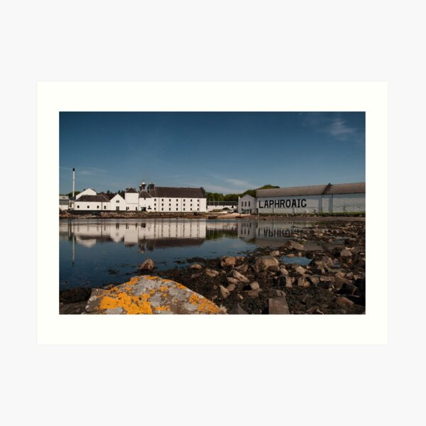 Islay: Laphroaig Distillery Art Print