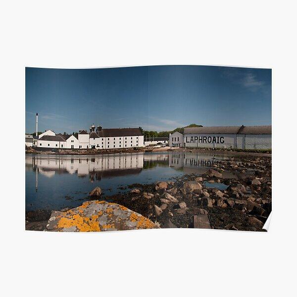Islay: Laphroaig Distillery Poster