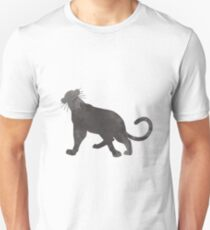 Panther Inspired Silhouette T-Shirt
