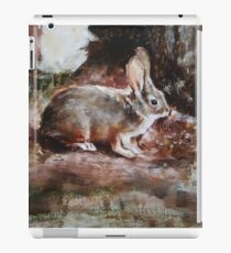 Hare - Original Oil Painting iPad Case/Skin