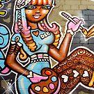 Street Art Debbie by howieb101