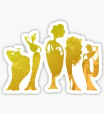 Singers Inspired Silhouette Sticker