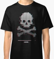 Loading Game over Stereo Glitch Classic T-Shirt