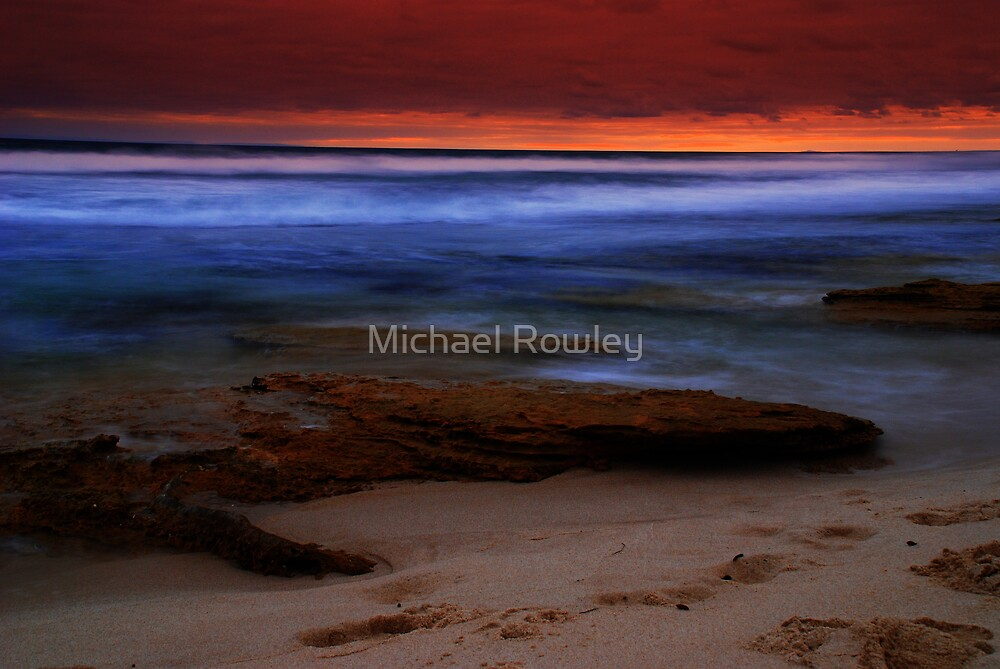 Surf Scene  by Michael Rowley