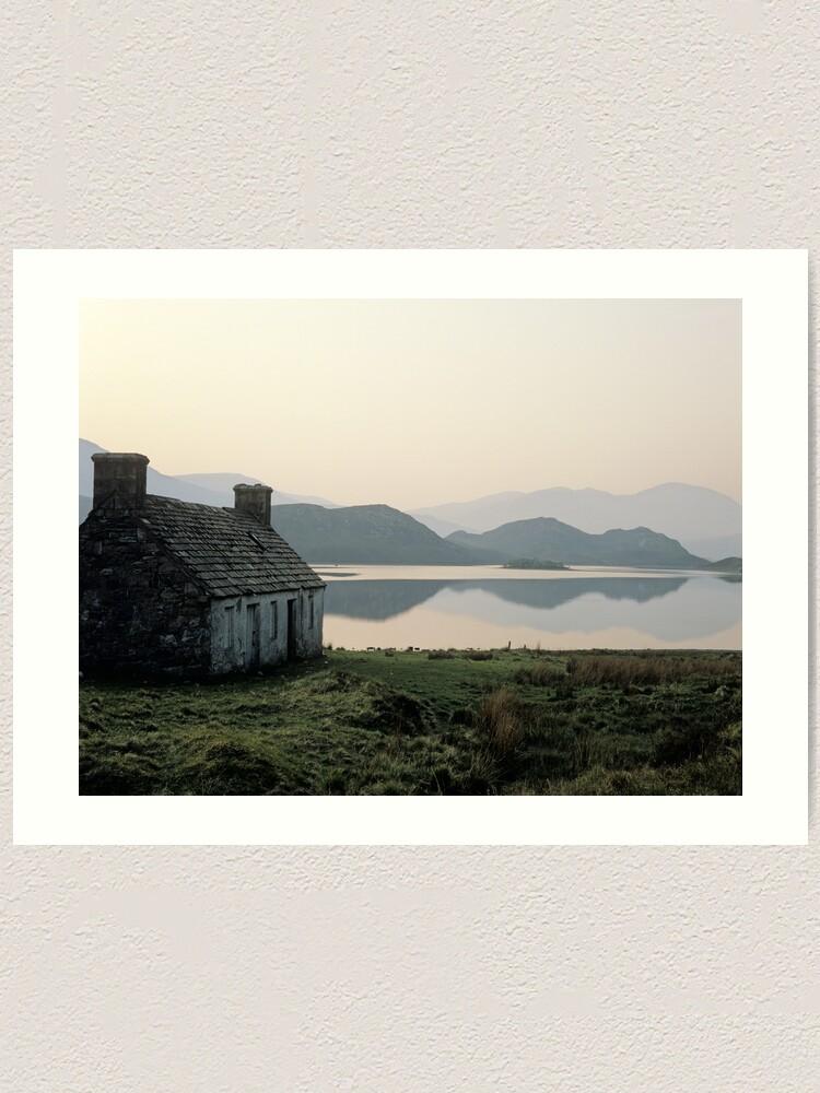 Alternate view of Highland Dawn Art Print