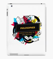 PHILOSOPHER iPad Case/Skin