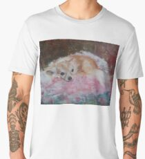 Lulu - Original Oil Painting Men's Premium T-Shirt