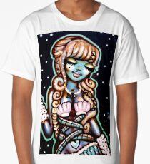 Street Art - The Happy Mermaid Long T-Shirt