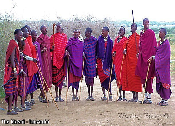 The Masai - The Nomads of Tanzania by westwizzer