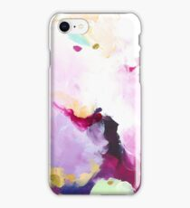 Leia - abstract acrylic painting iPhone Case/Skin