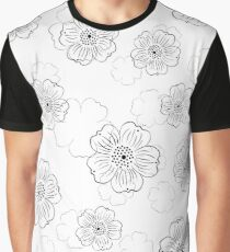 pattern with stylized flowers Graphic T-Shirt