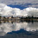 Portland Reflection by Steve Chapple