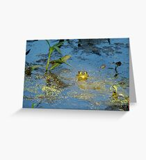 His Light Has Shone Upon Me Greeting Card