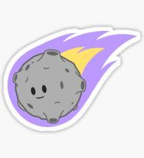 Cutesy Comet Sticker