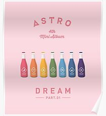 Astro Dream Part 1 - Pink Poster