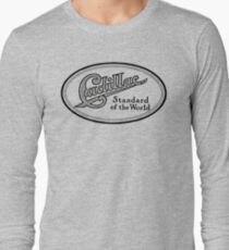 Vintage Ad - Cadillac Standard of the World Long Sleeve T-Shirt