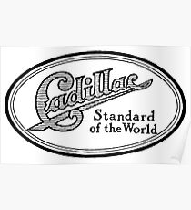 Vintage Ad - Cadillac Standard of the World Poster