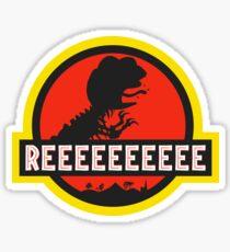 Jurassic PEPE - REEE Sticker