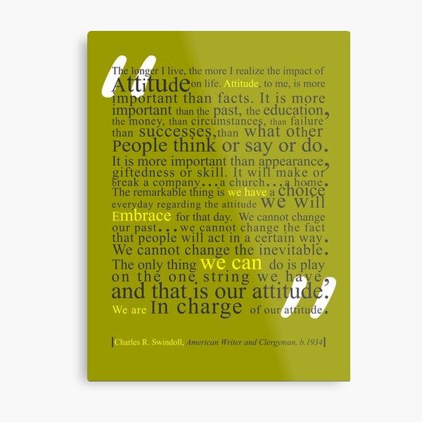 In Charge Metal Print