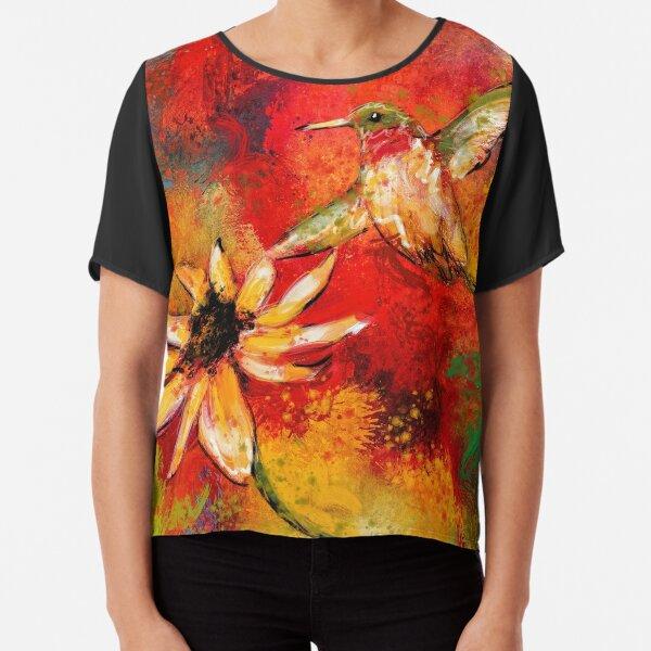 Hummingbird Energy Chiffon Top