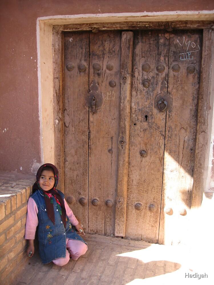 Abyaneh Girl by Hediyeh