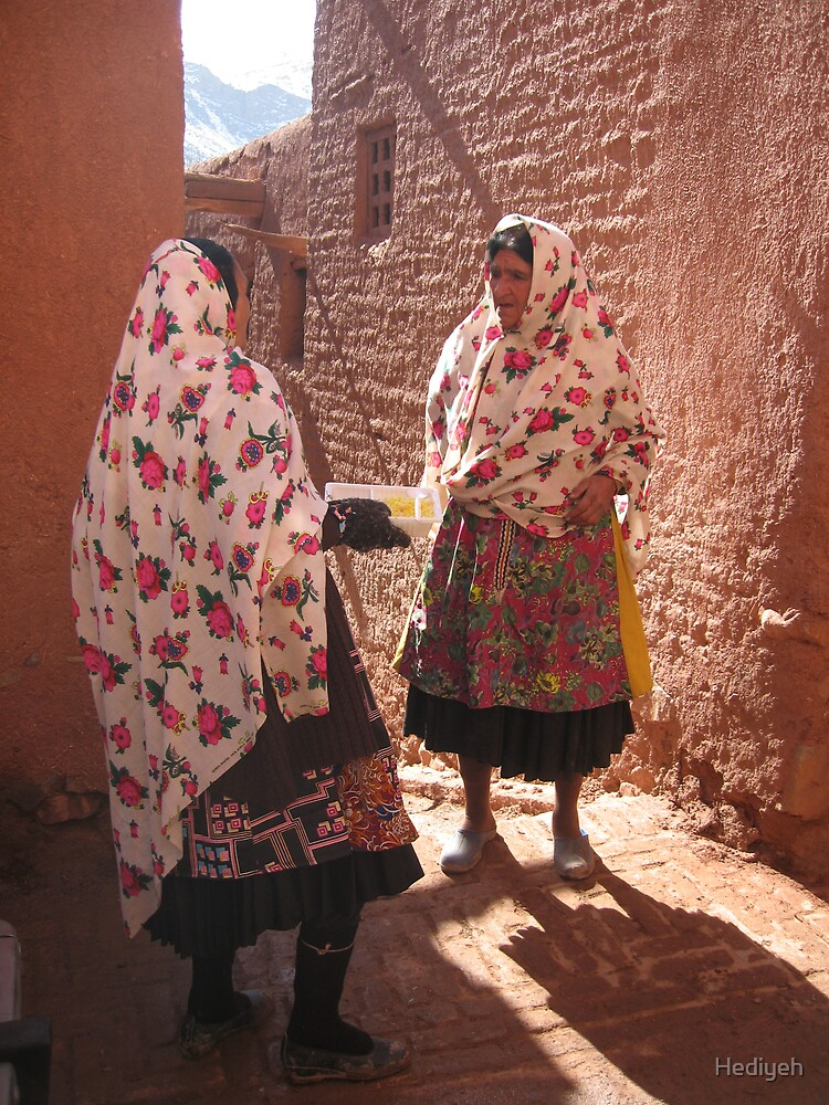Life in Abyaneh by Hediyeh