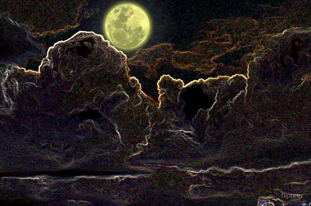 mystery moon by flipteez
