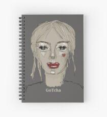 GoTcha Graffiti Mugshot Spiral Notebook