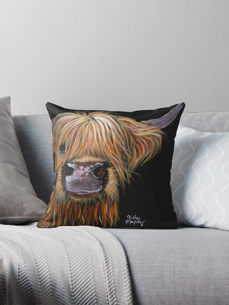 SCOTTISH HAIRY HIGHLAND COW 'HENRY' By Shirley MacArthur by Shirley MacArthur