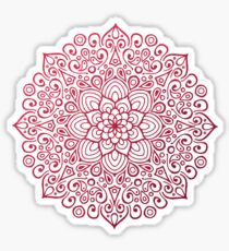 Mandala Flower Sticker