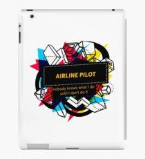AIRLINE PILOT iPad Case/Skin