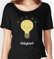 Delighted! Women's Relaxed Fit T-Shirt