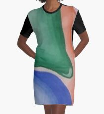 By the Sea Graphic T-Shirt Dress