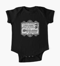 Beetlejuice Business Card One Piece - Short Sleeve