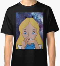 Alice in Wonderland doing a Bump Classic T-Shirt
