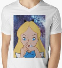 Alice in Wonderland doing a Bump T-Shirt