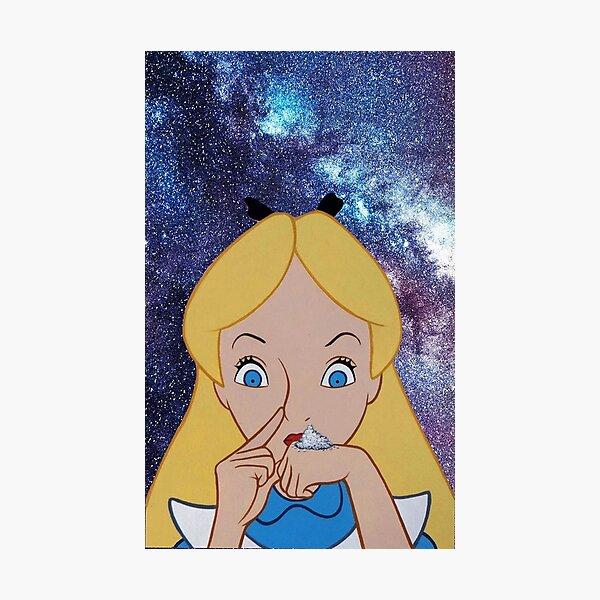 Alice going to Wonderland Photographic Print