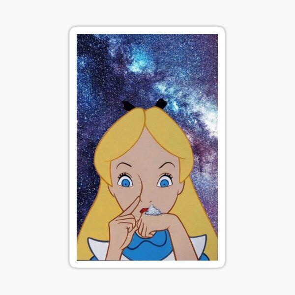 Alice going to Wonderland Sticker