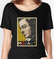 Mozart Women's Relaxed Fit T-Shirt