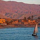 Egypt. Nile. Felucca. by vadim19