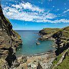 Tintagel haven North Cornwall by eddiej