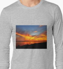 When I Admire the Wonder of a Sunset My Soul Expands in Worship of the Creator Long Sleeve T-Shirt