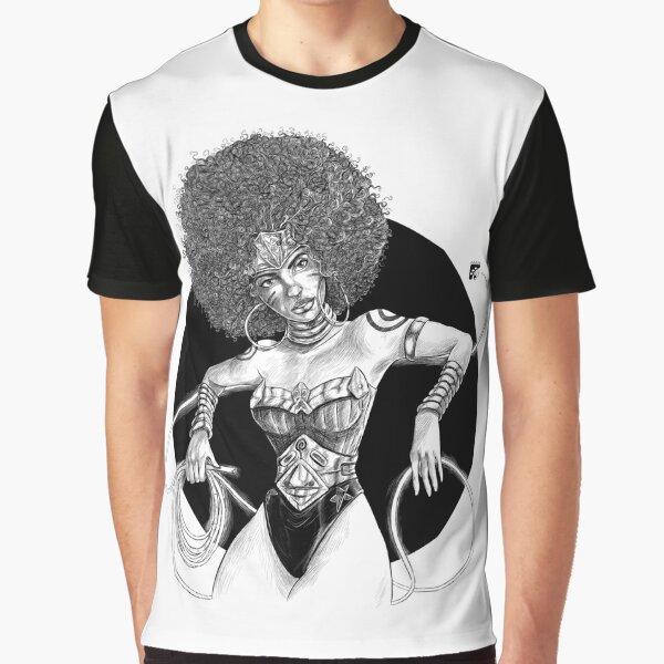 Afro Caribbean Wonder by Ed Daviel Graphic T-Shirt
