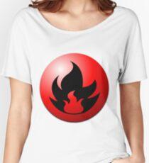 Fire Energy Women's Relaxed Fit T-Shirt