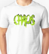 Chaos Typography T-Shirt
