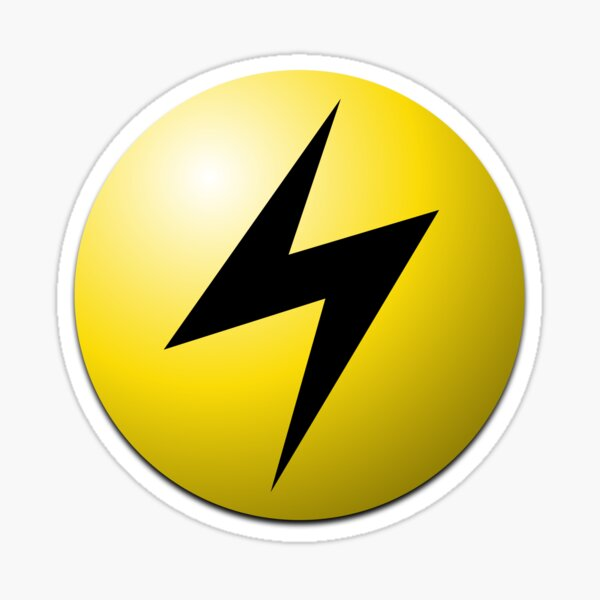 Lightning Energy Sticker